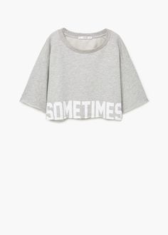 Designer Clothes, Shoes & Bags for Women Crop Top Hoodie, Crop Top Shirts, Cool Shirts, Crop Tops, Girls Fashion Clothes, Teen Fashion Outfits, Casual Outfits, Belly Shirts, Sweatshirts