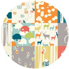 Jay-Cyn Designs for Birch Organic Fabrics, Elk Grove Cotton, Elk Grove Patchwork