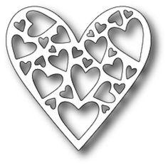 Memory Box Die - Tender Heart