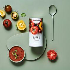 Reich an Proteinen, erhöhter Ballaststoffgehalt, mit 24 Vitalstoffen: Die amapur Suppen sättigen langfristig bei wenig Kalorien. Ein leichter Lunch oder schnelles Dinner. Protein, Food, Fiber, Credenzas, Meals