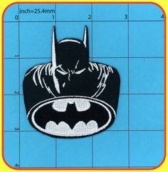Comics Batman The Dark Knight Movie Gotham Police Logo Embroidered Patch New Unused 100% Guarantee