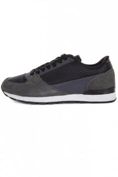 Oill Nylon Running Trainers Black Mens Running Trainers, Designer Trainers, Cleaning Wipes, All Black Sneakers, Footwear, Brand New, Stylish, Stuff To Buy, Clothes