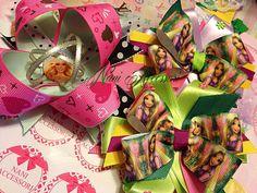 Modello: Rapunzel - Barbie  Princess Fiocchi, fiocchetti
