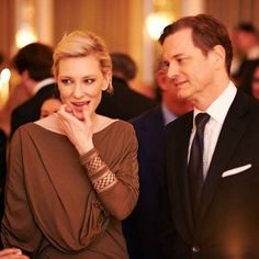 Cate Blanchett and Colin Firth
