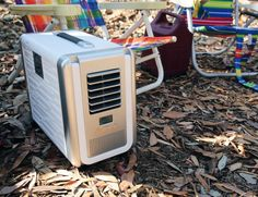 #Coolala Solar-Powered Portable Air Conditioner.