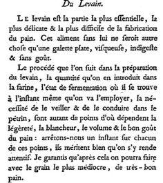 Faire son pain comme au XVIII° siècle (1) - Ni Cru Ni Cuit -- Antoine Parmentier