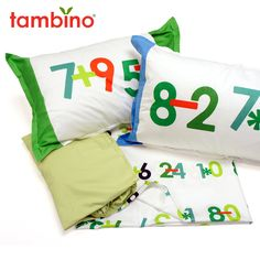 math by osmosis twin bed sheet set for boys.