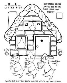 bluebonkers nursery rhymes coloring page sheets three little