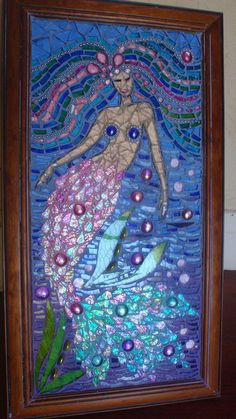 Shala, The Mermaid by Poppins Mosaics and Crafts, via Flickr