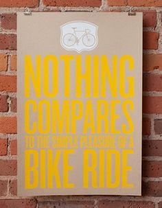 so true :)  I think of Motorcycle...when ya say Bike...