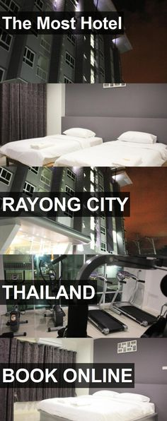 The Most Hotel in Rayong City, Thailand. For more information, photos, reviews and best prices please follow the link. #Thailand #RayongCity #travel #vacation #hotel