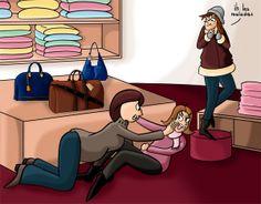 La guerre du shopping de noel