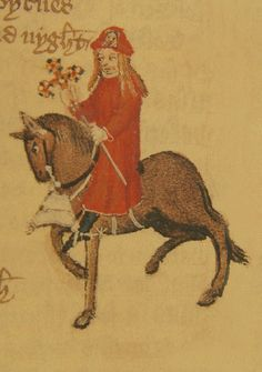 The pardoner was medieval preacher delegated to raise money for the church. He granted indulgences (pardons for sins) to those paid for them.