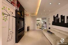 HDB 3Rm@Tampines - Living Room | Home & Decor Singapore