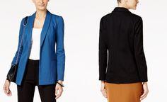 Alfani Shawl-Collar Open-Front Jacket, Only at Macy's - Alfani - Women - Macy's