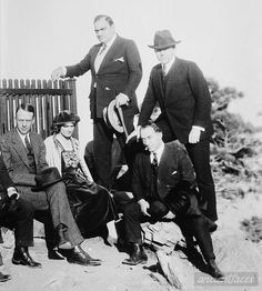 Enrico Caruso 1920 with Family