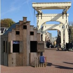 very Dutch kids playhouse