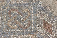Mosaic floor, Roman villa at Milreu Portugal