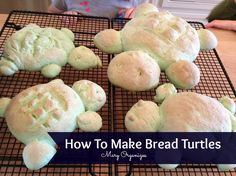 How To Make Bread Turtles - Easy and Fun