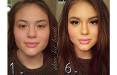 23 Before and After Makeup Transformation Photos That Are Almost Unbelievable (Slide #8) - offbeat