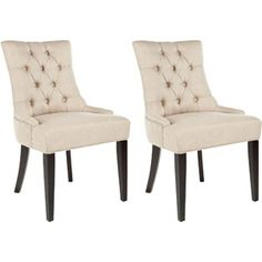 Safavieh Ashley Side Chairs, Set of 2