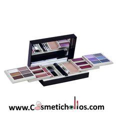 c5838cc19 Cofre maquillaje Mirlans Classic Paleta mirlans pequeña ideal para llevar  en el bolso, contiene: