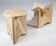 Design Idées deco: Origami en contre-plaqué Christina Waterson. | Décoration maison, meubles maison jardin et design intérieur sur Artdco.net