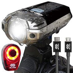 BLITZU Gator 390 USB Rechargeable LED Bike Light Set, Bic... https://www.amazon.com/dp/B01NAGIHJB/ref=cm_sw_r_pi_dp_x_ysMbAb03PBD4P