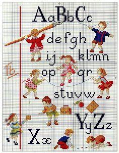 ABCs cross stitch