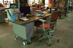 Paige's desk #TeamScorpion