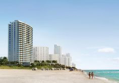 Apogee Beach condominium, oceanfront condominium, South Florida.