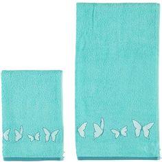 Set teli da bagno con fantasia farfalle - € 8,90 | Nico.it