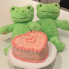 Pretty Birthday Cakes, Pretty Cakes, Cake Birthday, Frog Cakes, Cute Frogs, Cute Desserts, Just Cakes, Aesthetic Food, Aesthetic Fashion