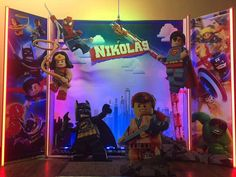 Check out this cool Lego Movie photo booth!! So awesome!! See more party ideas and share yours at CatchMyParty.com