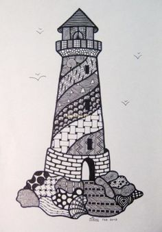 Lighthouse coloring page Summer Pinterest Lighthouse