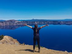 If+visiting+Crater+Lake+National+Park+and+the+deepest+lake+in+America+isn't+on+your+bucket+list, Crater Lake Lodge, Crater Lake National Park, National Park Passport, National Parks, State Of Oregon, Pacific Crest Trail, Water Me, Park Service, Boat Tours