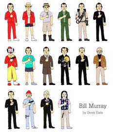 Bill Murray  by Derek Eads