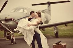 Dagney and Michaels Military & Aviation wedding - Real Wedding Pictures