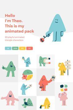 Kids Branding, Branding Design, Logo Design, Kids Graphic Design, Outline Illustration, Character Illustration, French Film, Svg Animation, Dm Poster