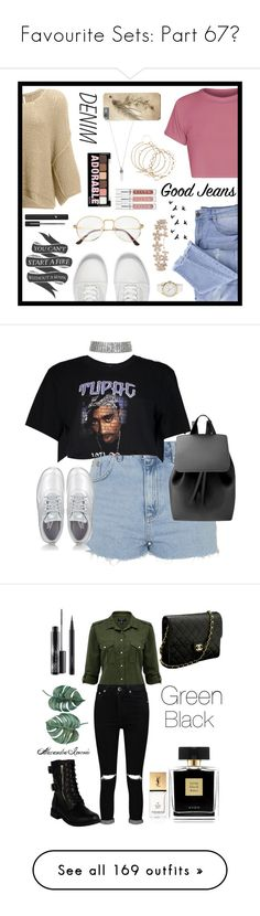 """""""Favourite Sets: Part 67❣"""" by moon-and-starss ❤ liked on Polyvore featuring Essie, Free People, Vans, Native State, Tommy Hilfiger, Lancôme, Humble Chic, Marc Jacobs, Charlotte Russe and distresseddenim"""