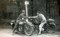 Cars and motorcycles before Second World War
