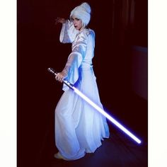 Pin for Later: 34 Crazy Cool Star Wars Costume Ideas Atris The Jedi historian is a vision in white.