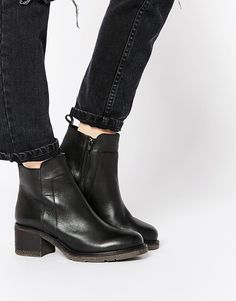 ASOS REVERE Leather Ankle Boots