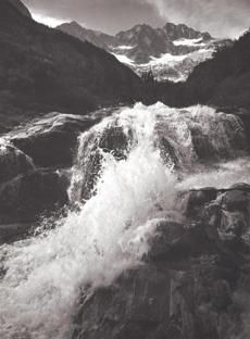"Photos: More from Ansel Adams's water world (Photo 4 of 6) - Pictures - The Boston Globe ""Cascades"""