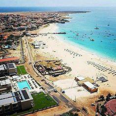 Cape Verde, Sal Island, Santa Maria beach