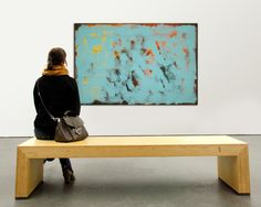 Orange+wrapped+in+Blue++Large+Abstract+Painting++by+RonaldHunter,+$329.00