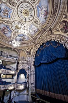 The Grand Theatre Blackpool. Located in Blackpool, Lancashire, England, UK.