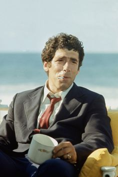 """gregorygalloway: """" Elliott Gould (born Elliott Goldstein, 29 August in The… The Long Goodbye, I Quit, Looks Cool, Movie Tv, Cinema, Actors, Fictional Characters, Smoking, Films"""