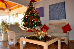 #Christmas at the reception of #CordialBiarritz