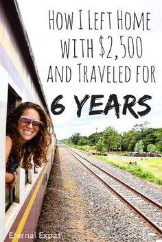 Laura hat 2010 ihr Zuhause mit nur 2.100$ verlassen und schafft es dennoch seit sechs Jahren zu reisen. Wie, erfährt ihr hier.